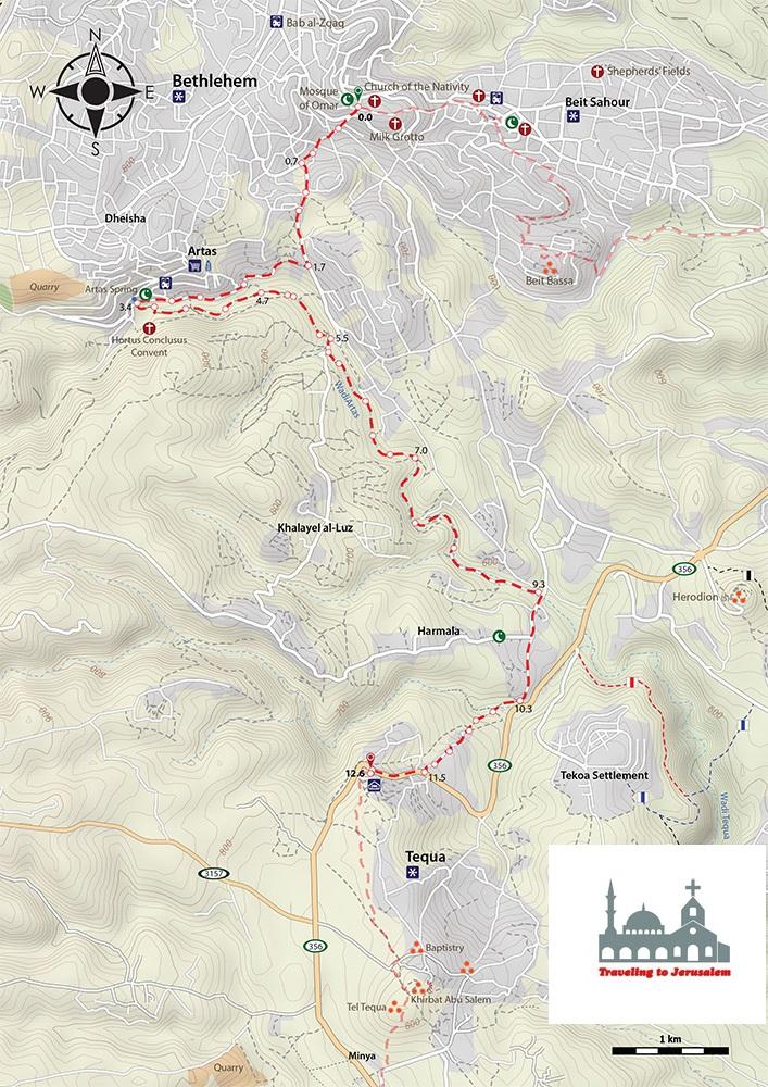 Beit-Sahour-Tequa-Map1