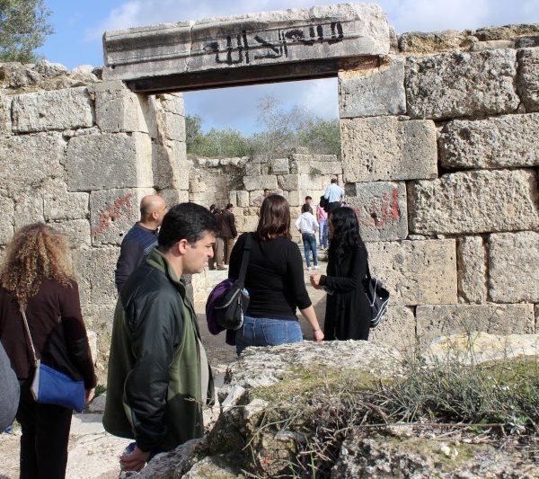 Sebastia to Nablus