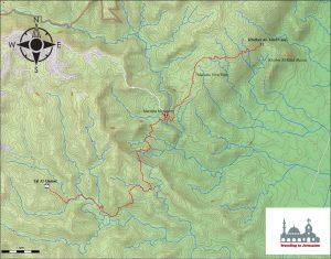 Khirbet - Tel Al Qamar map